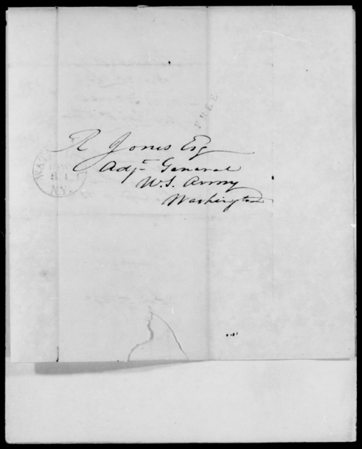 France, Conrad - State: [Blank] - Year: 1842 - File Number: F174