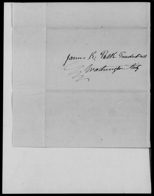 Gaither, E B - State: District of Columbia - Year: 1848 - File Number: G85