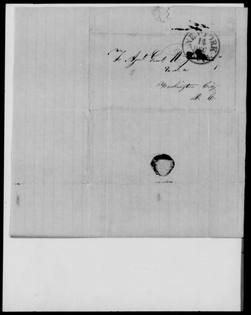 Gill, George - State: District of Columbia - Year: 1848 - File Number: G587