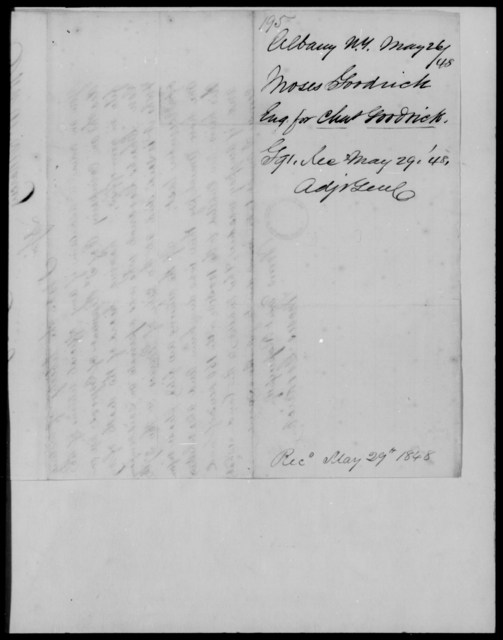 Goodrich, Moses - State: New York - Year: 1848 - File Number: G195