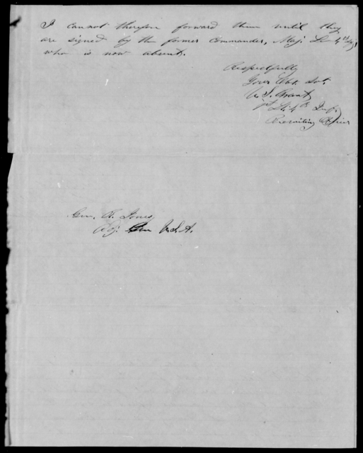 Grant, U S - State: [Blank] - Year: 1848 - File Number: G395