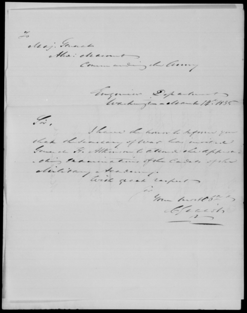 Gratiot, C - State: Alabama - Year: 1835 - File Number: G44