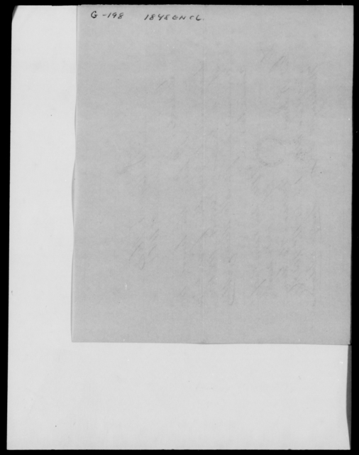 Gray, William H - State: [Blank] - Year: 1848 - File Number: G198
