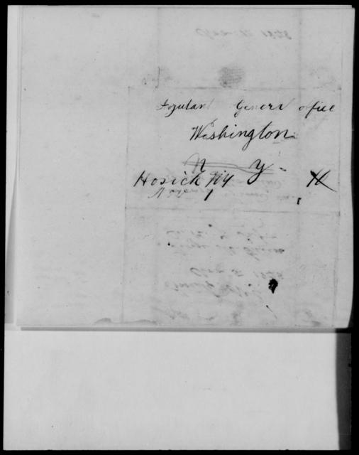 Green, George M - State: Washington - Year: 1848 - File Number: G575