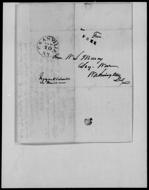 Gwyer, James A - State: [Blank] - Year: 1848 - File Number: G26