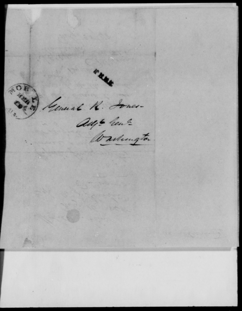 Hardee, W J - State: [Blank] - Year: 1848 - File Number: H128