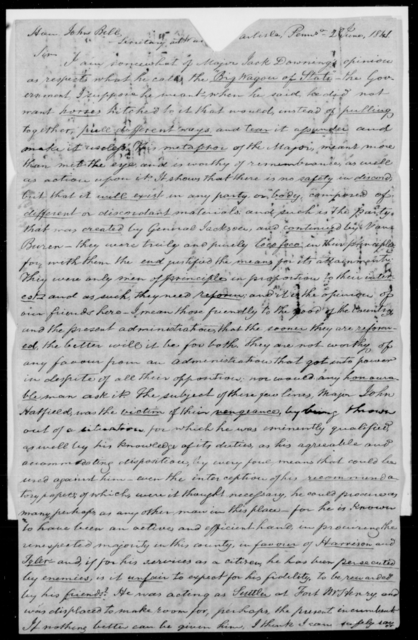 Hatfield, John - State: Pennsylvania - Year: 1843 - File Number: H131