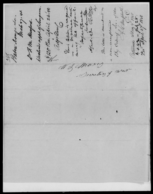 Henford, F M - State: [Blank] - Year: 1848 - File Number: H268