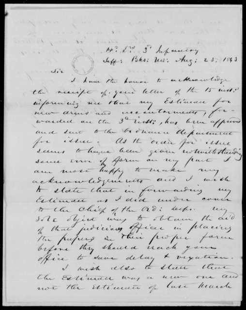 Hitchcock, [Blank] - State: Missouri - Year: 1843 - File Number: H193
