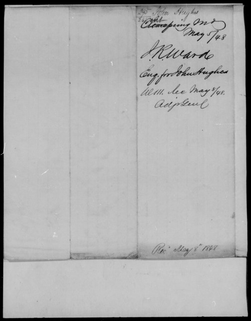 Hughes, John - State: Maryland - Year: 1848 - File Number: H295