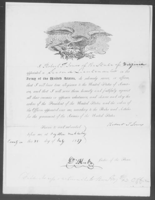 Jones, Robert T - State: Virginia - Year: 1837 - File Number: J130