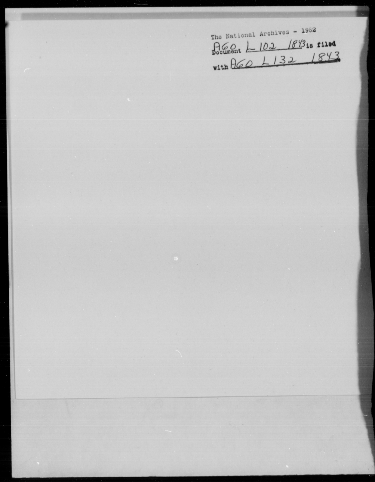 Lawson, Thomas - State: [Blank] - Year: 1843 - File Number: L102