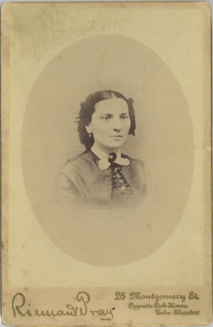 Loud 16,  Mrs. A. P. Loud. Photography by Gray and Hereford, c. 1880s. Photograph by Gray & Hereford