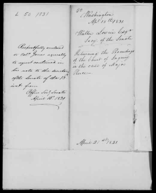 Louis, Walter - State: Washington - Year: 1831 - File Number: L50