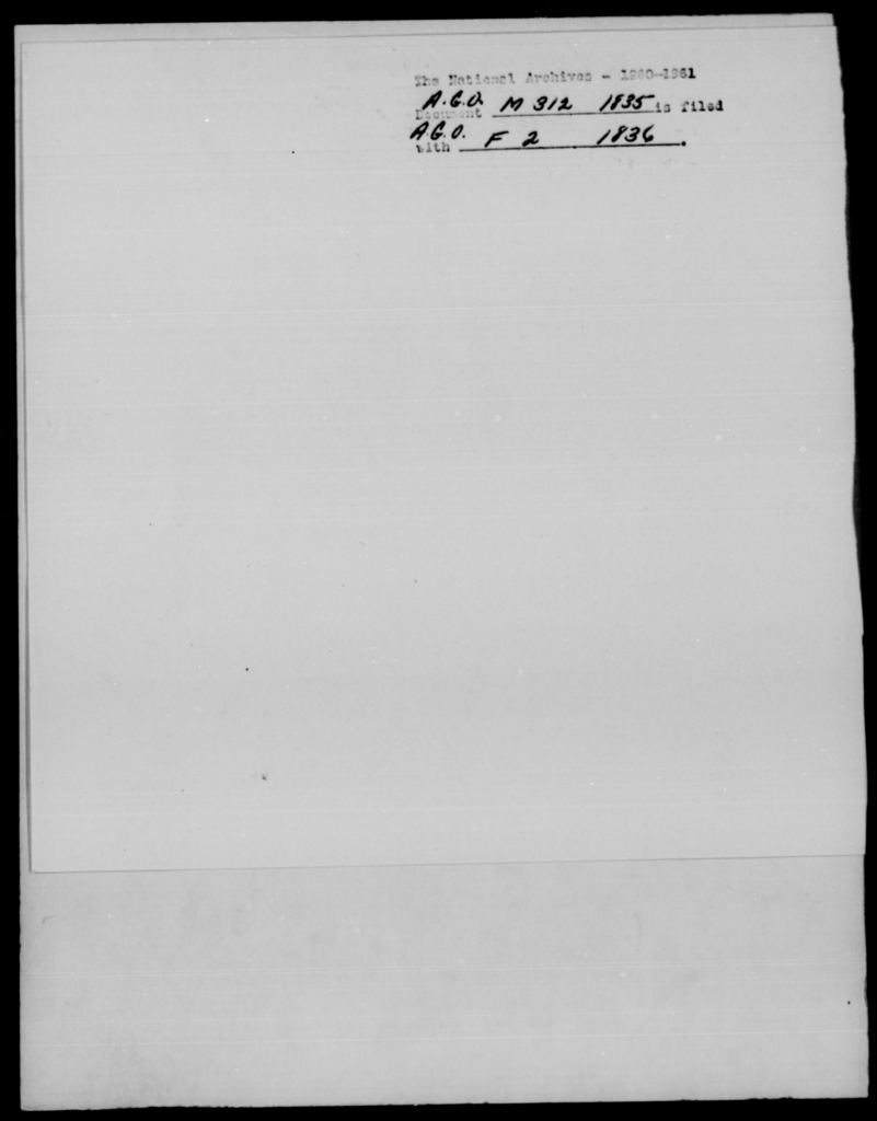 Mountford, J - State: [Blank] - Year: 1835 - File Number: M312