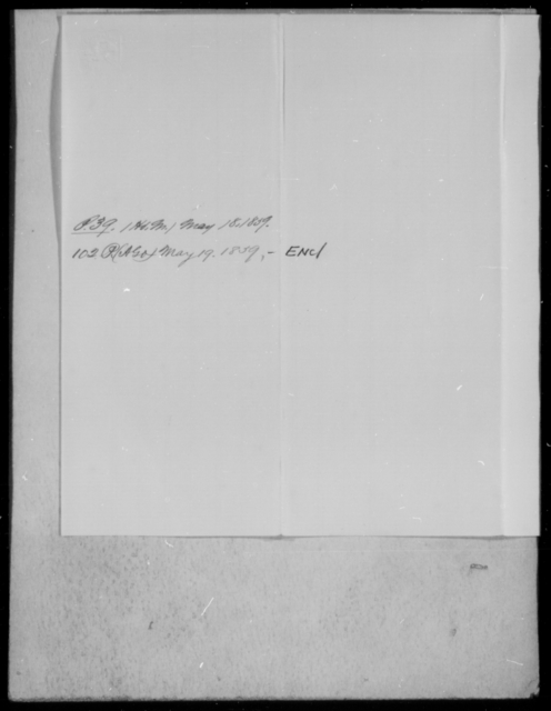 Palmer, J N - State: [Blank] - Year: 1859 - File Number: P102
