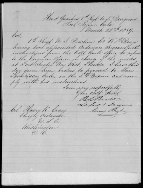 Pegram, Jno - State: California - Year: 1859 - File Number: P88