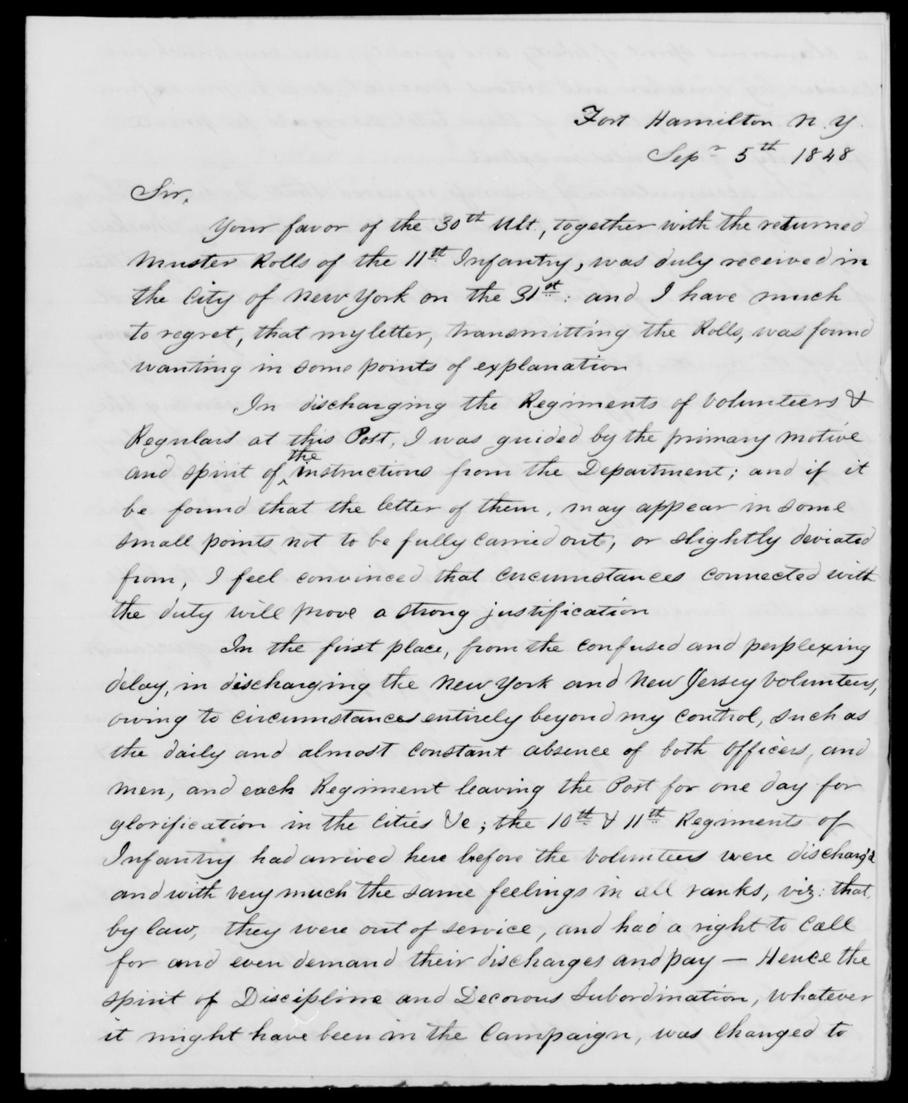 Plympton, J - State: New York - Year: 1848 - File Number: P383