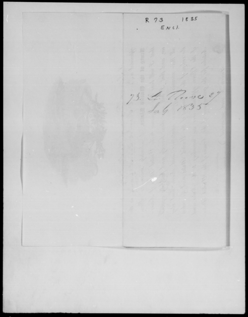 Reeve, [Blank] - State: New York - Year: 1835 - File Number: R73