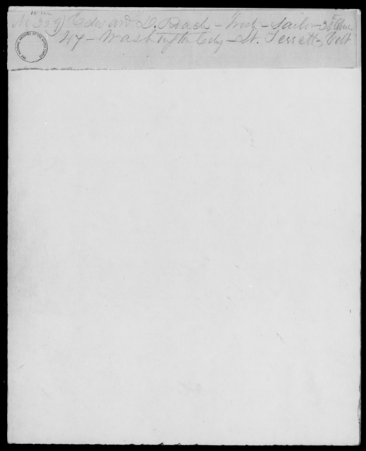 Roche, Edward - State: District of Columbia - Year: 1848 - File Number: R226