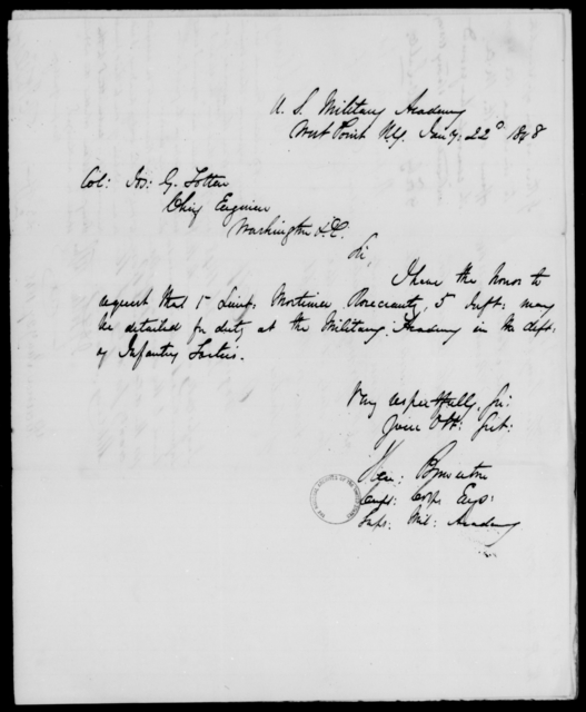 Rosecrans, Mortimer - State: New York - Year: 1848 - File Number: R209