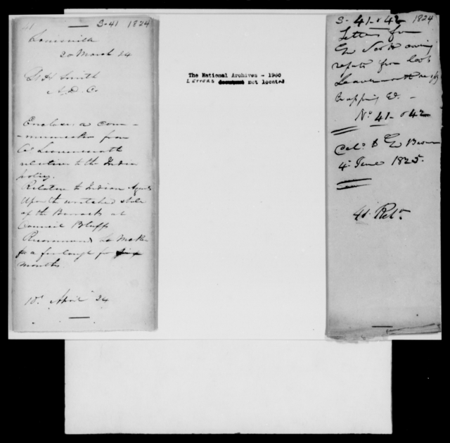 Smith, Henry - State: Kentucky - Year: 1824 - File Number: S41