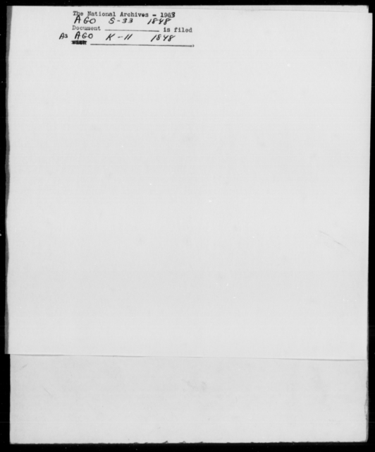 Sumter, F - State: [Blank] - Year: 1848 - File Number: S33