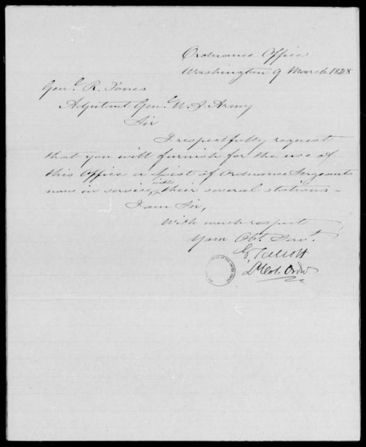 Talcott, George - State: Washington - Year: 1848 - File Number: T109