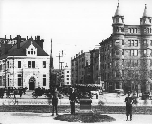 The Twin-Turreted Apex Building (Now Sears House) on 7th and Pennsylvania Avenue