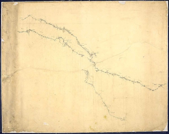 [Sketch showing the route of march of the 14th Army Corps from Atlanta to Savannah, November 16 to December 9, 1864.]