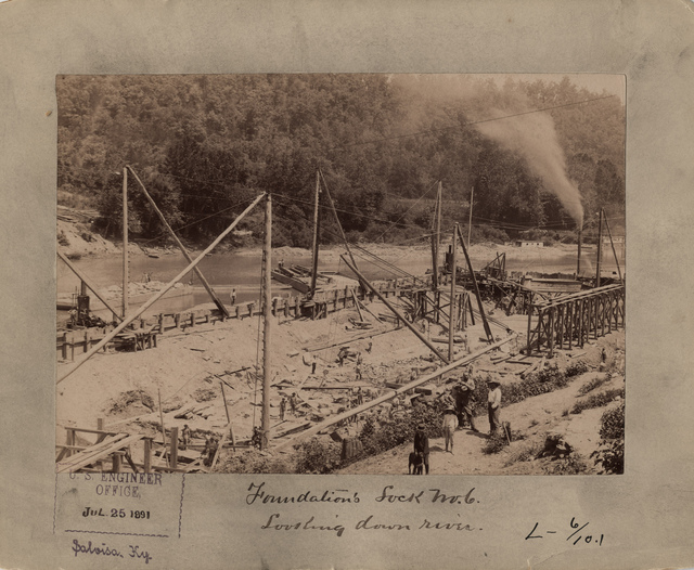 Kentucky River Lock Number Six Foundations