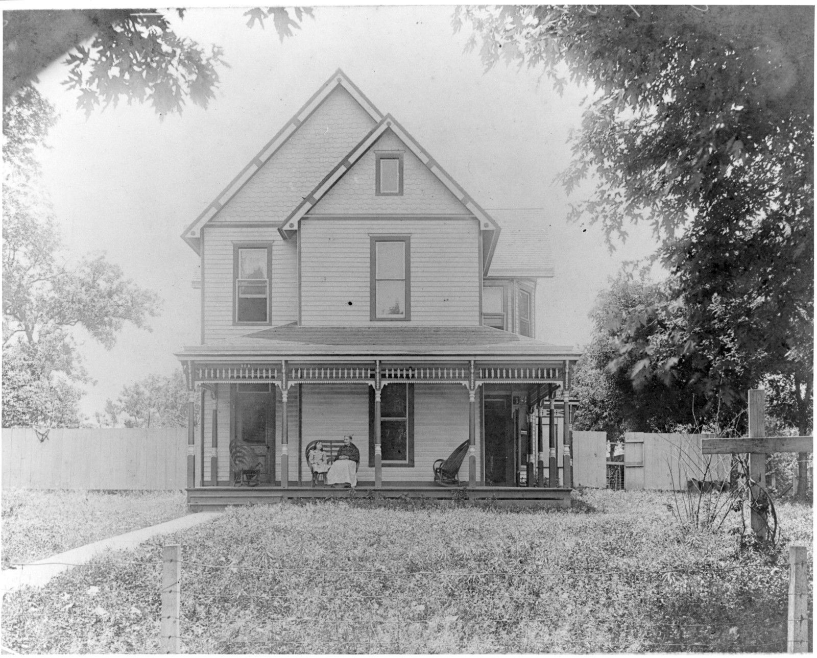 Photograph of John Anderson Truman Family Home, Independence, Missouri