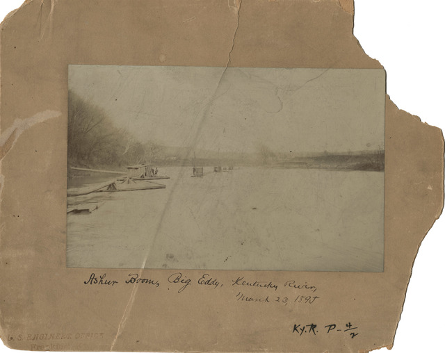 Ashur Boom, Big Eddy, Kentucky River