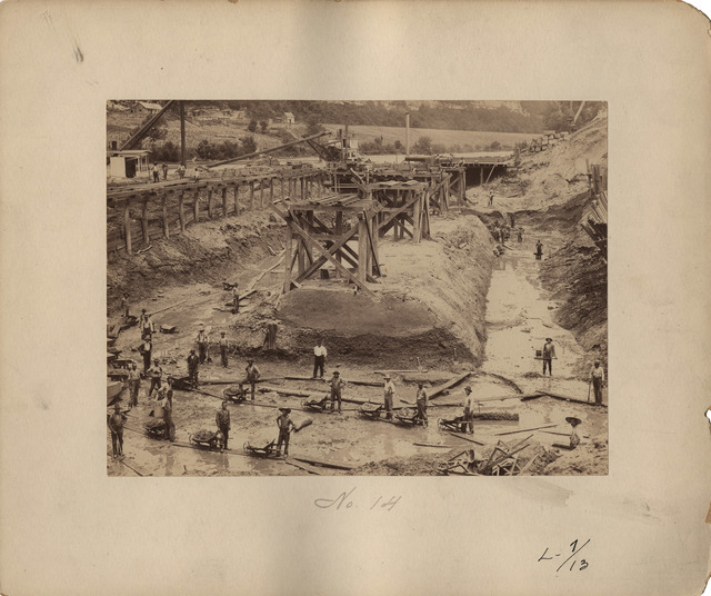 Pit Excavation at Lock Number Seven on the Kentucky River