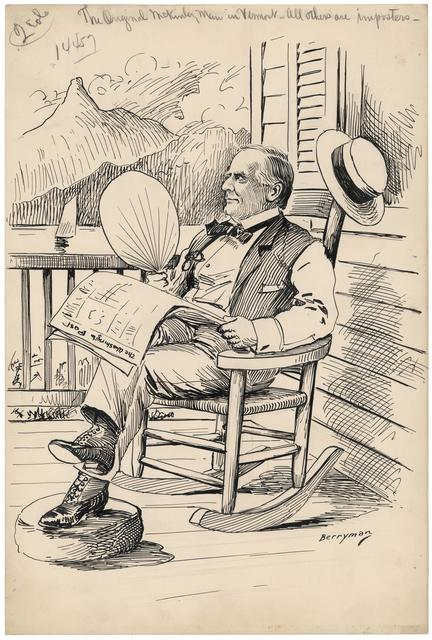 The Original McKinley Man in Vermont - All Others Are Imposters