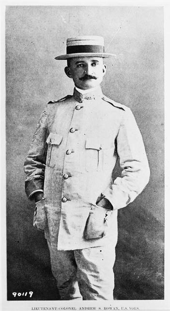 Photograph of Lieutenant Colonel Andrew S. Rowan