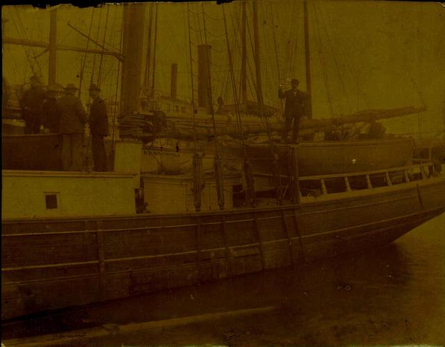 Photograph of the Jane Gray