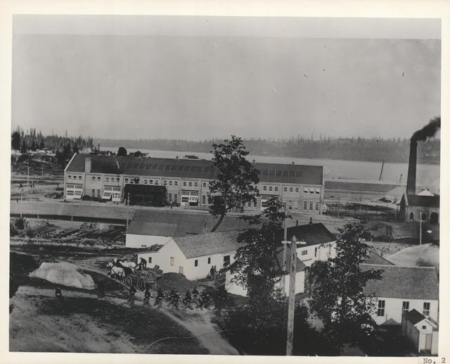 View of Puget Sound Navy Yard