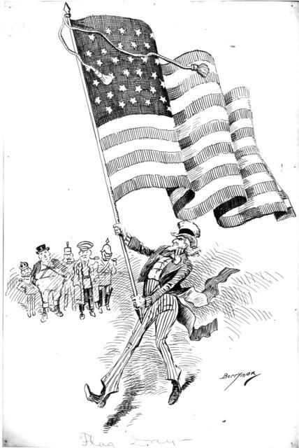 Flag Day - 1900
