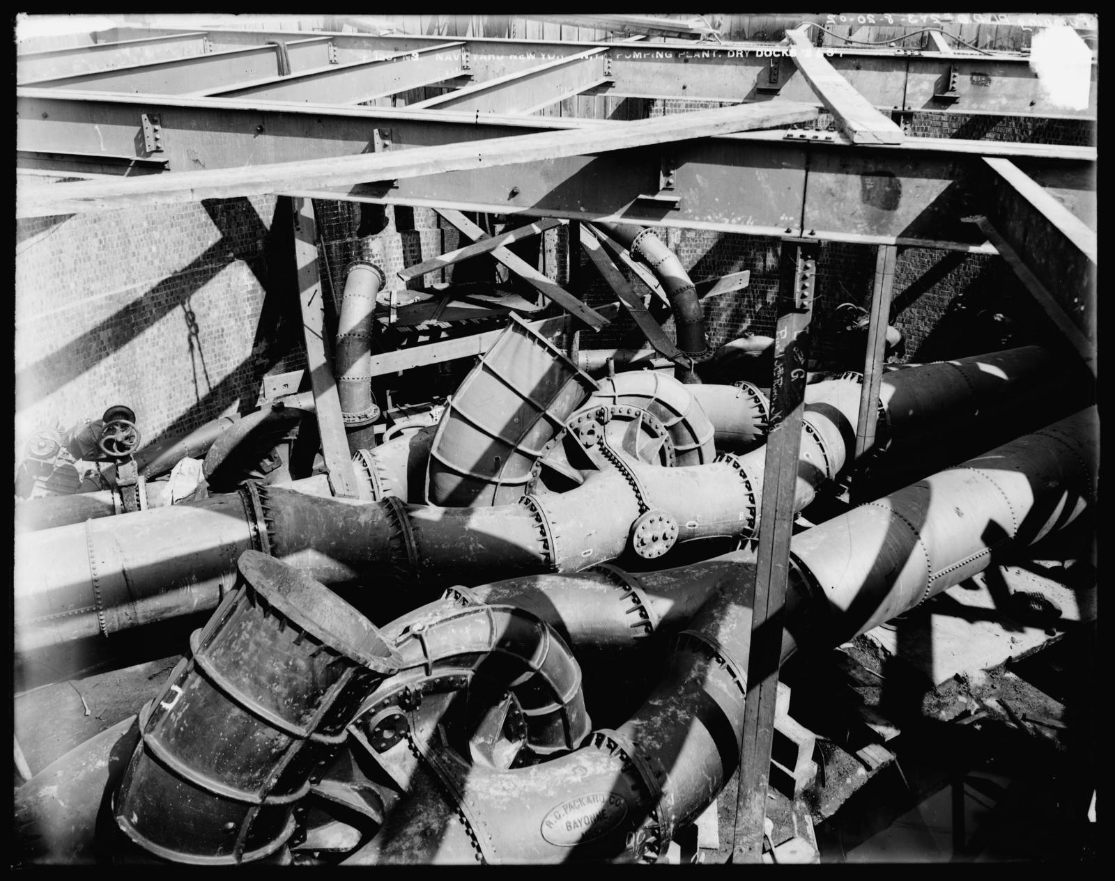 Pumping Plant, Dry Docks 2 and 3