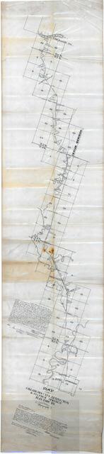 Map of Oklahoma City, Lexington & Sulphur Springs Electric Ry.