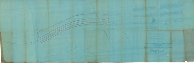Midland Valley Railroad Co., Map of Station Grounds Required at Keota, I.T.