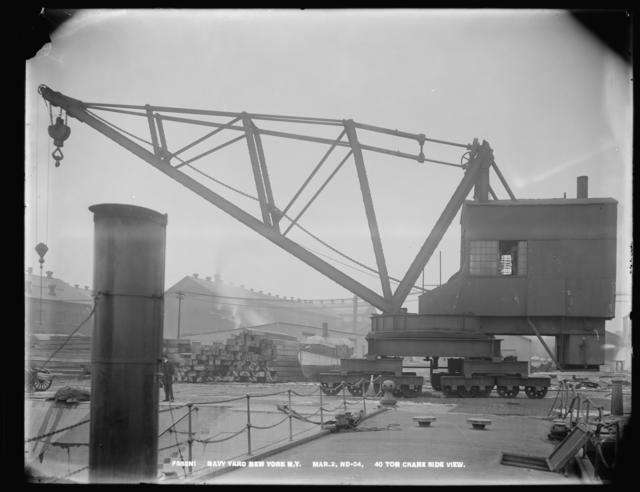 40 Ton Crane Side View