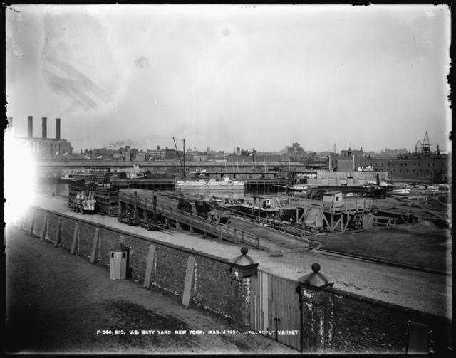 Yards and Docks Electric Plant, Looking Northwest
