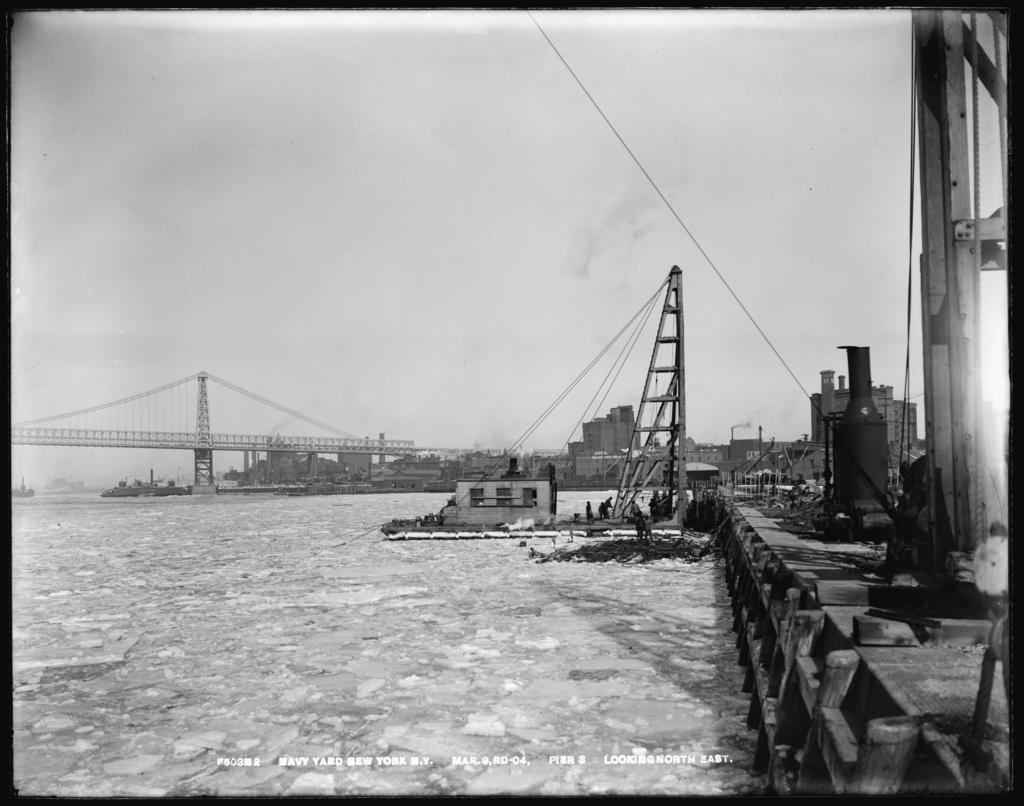 Pier 3, Looking Northeast