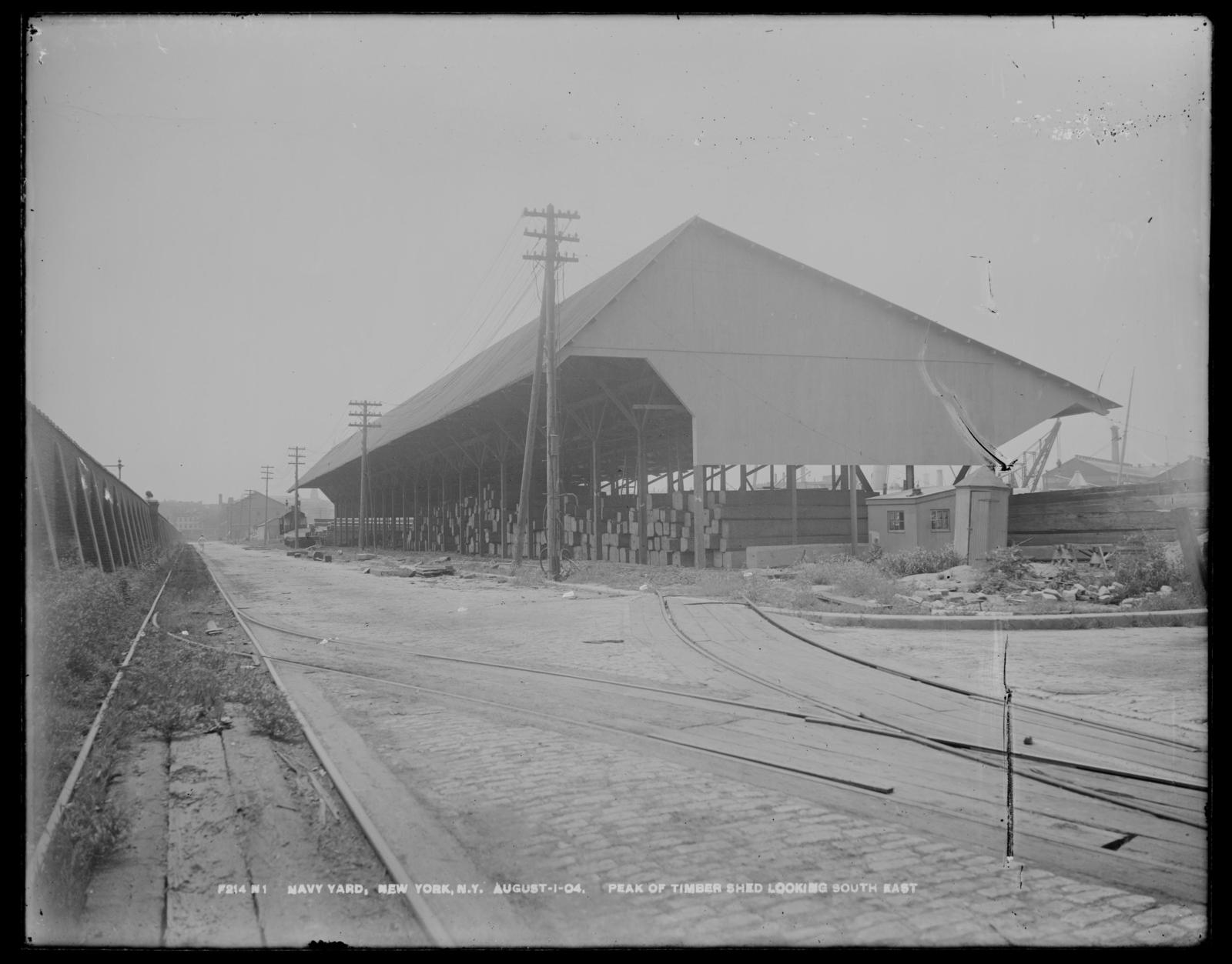Peak of Timber Shed, Looking Southeast