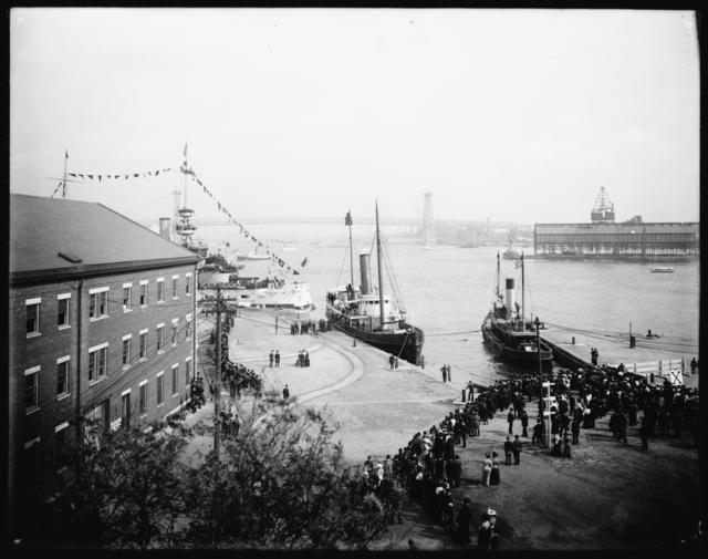U.S.S. Connecticut Launching