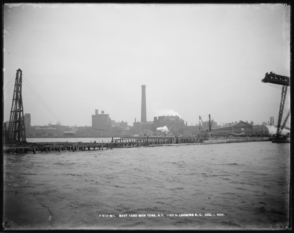 Pier 3, Looking Southeast