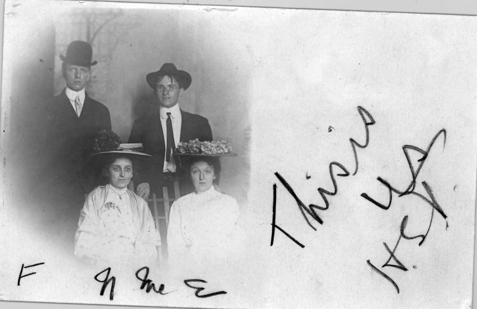 Harry S. Truman with his Noland Cousins
