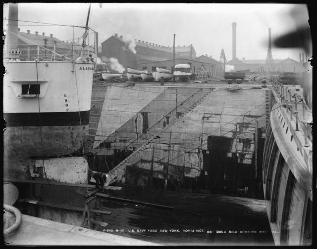 Dry Dock Number 2, Showing West Wall